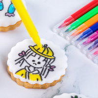 Mini Edible Pen Marker Single Side Tip